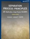 Separation Process Principles 4/E