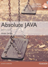 Absolute Java, Global Edition, 6/E